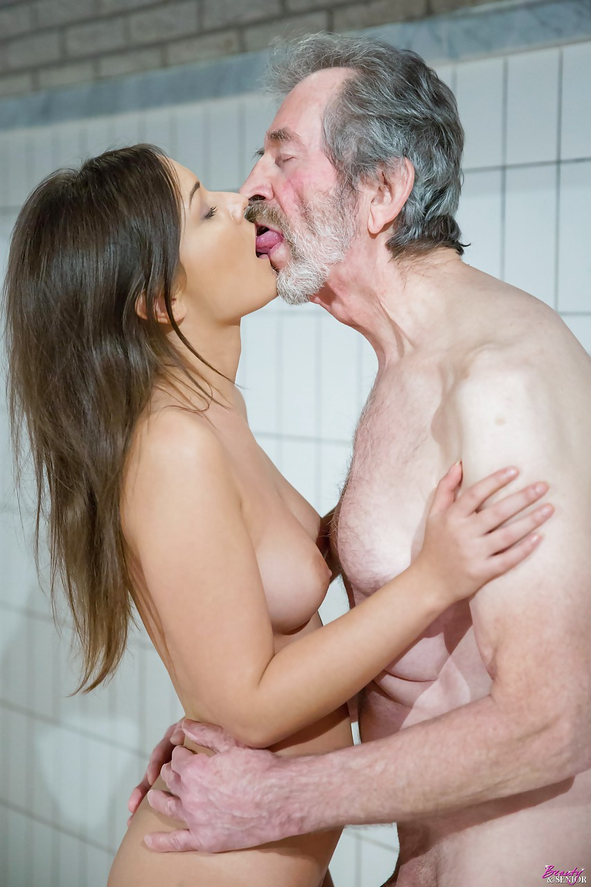 Older man with hot young gf 12